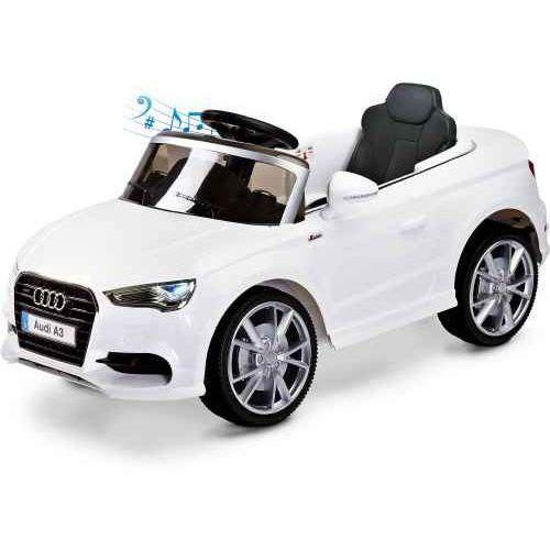 Toyz Samochód akumulatorowy audi a3 - white