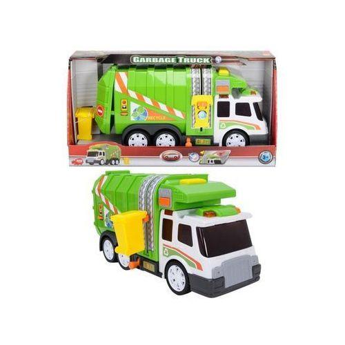 Śmieciarka zielono-biała marki Dickie
