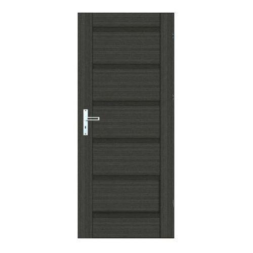 Drzwi pełne Graso 80 prawe grafitowe (5902689031724)