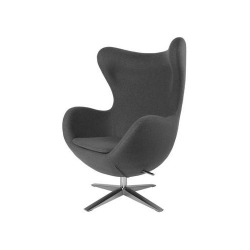 D2.design Fotel jajo soft wełna szary ja-2702 (5902385702430)