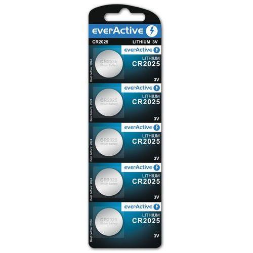 Everactive 5x bateria litowa mini cr2025 (5902020523437)