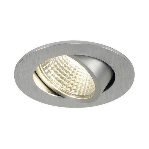 Oczko new tria led 3w dl okrągłe aluminium szczotkowane, 113956 marki Spotline