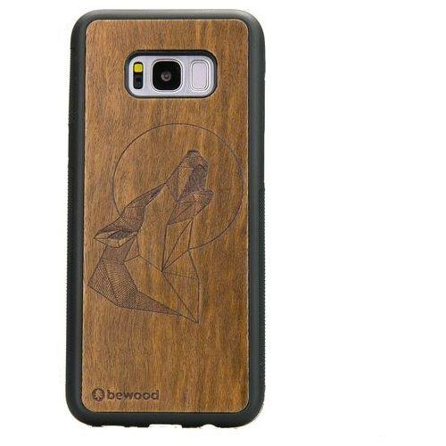 Bewood Samsung s8 plus wilk imbuia geometric animals
