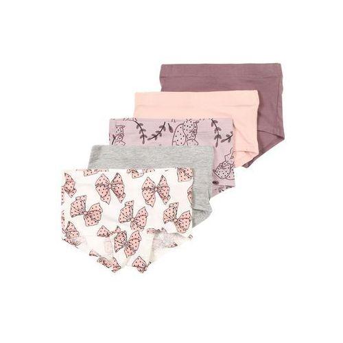 bielizna 'nmflonia 5p tights' beżowy / fioletowy / bladofioletowy / różowy / biały marki Name it