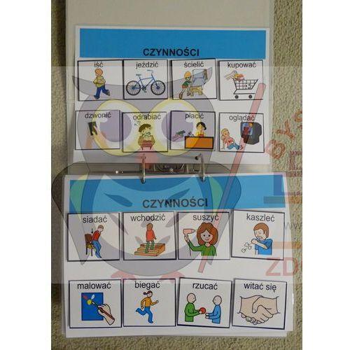 Mój pierwszy starter wizualny - książka z piktogramami ( obrazkami tematycznymi) marki Bystra sowa
