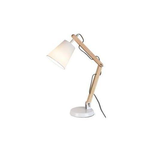 Lampka biurkowa thomas 1x40w sosna marki Rabalux