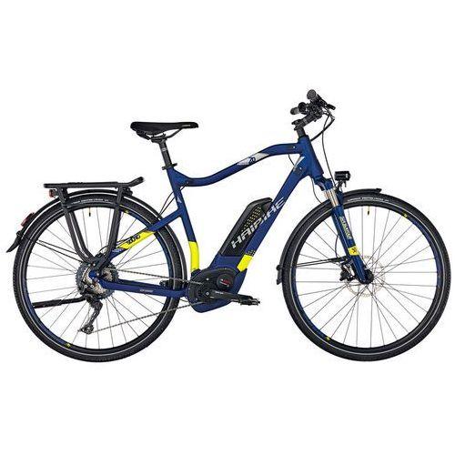 """HAIBIKE SDURO Trekking 7.0 Rower elektryczny trekkingowy żółty/niebieski 60cm (28"""") 2018 Rowery elektryczne (4054624074523)"""