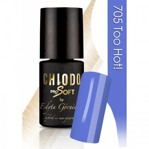 Chiodo PRO Soft with love from LA - lakier hybrydowy - Too Hot! 705