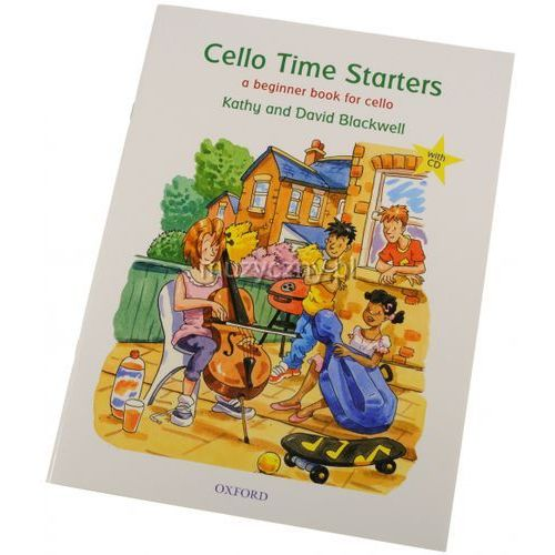 blackwell kathy, david - cello time starters (utwory na wiolonczelę + cd) marki Pwm
