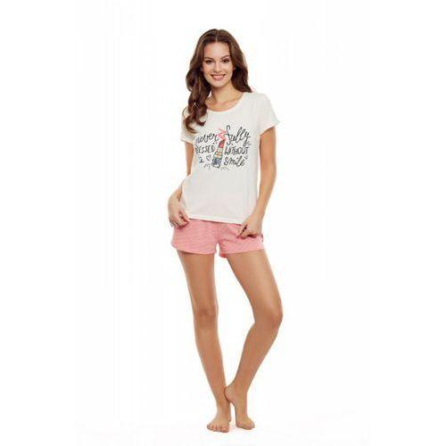 Piżama damska model devine 35830-01x ecru/pink, Henderson
