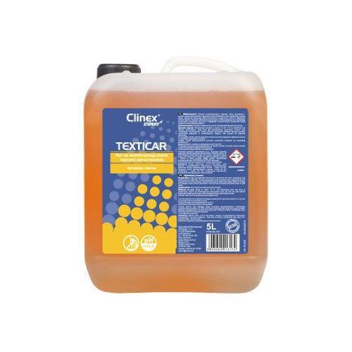 CLINEX TEXTICAR 5L -Płyn do ekstrakcyjnego prania tapicerki samochodowej, 40-107
