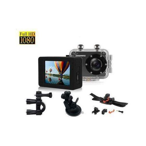 Sportowa kamera wyczynowa wodoodporna activecam full hd. marki Overmax