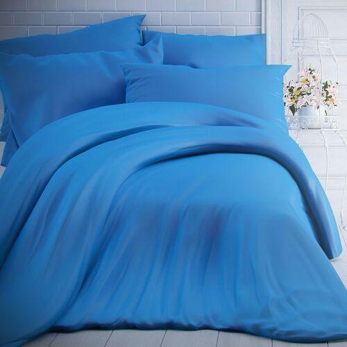 Kvalitex pościel bawełniana niebieska, 140 x 200 cm, 70 x 90 cm, 140 x 200 cm, 70 x 90 cm