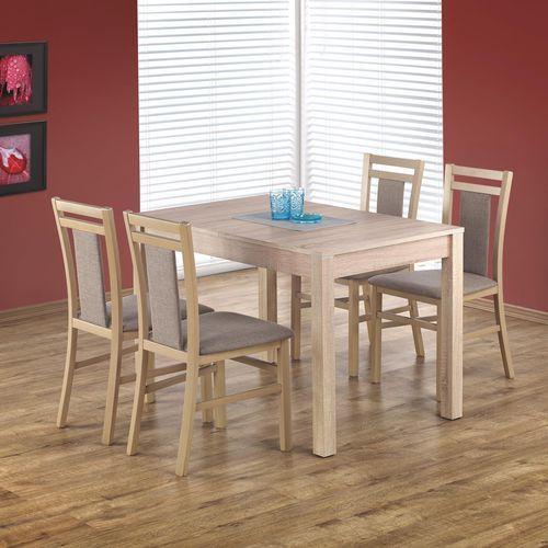 Halmar Zestaw stołowy - - rozkładany stół maurycy + 4 krzesła hubert 8