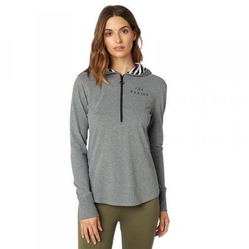 Fox bluza lady z kapt. block pass heather graphite marki Fox_sale