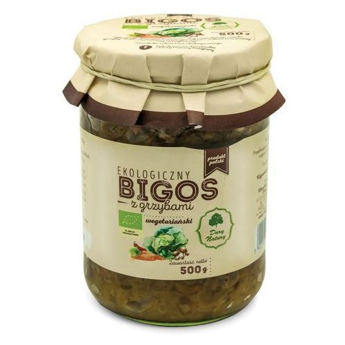 Dary natury - inne bio Bigos wegetariański z grzybami bio 500 g dary natu (5902581617774)