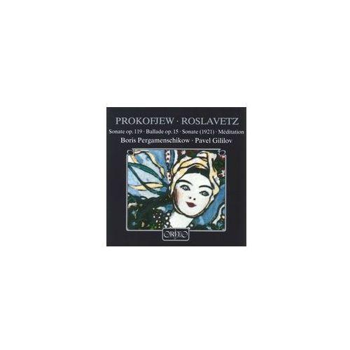 Prokofjew S / Roslavetz N - Sonaten Op. 119, Ballade Op. 15 - sprawdź w wybranym sklepie