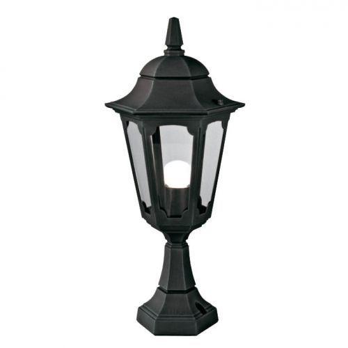 Elstead lighting Plafon parish czarny (5024005295105)