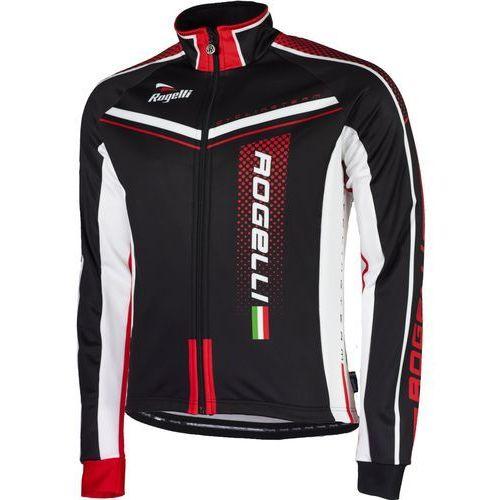 Rogelli Gara Mostro - męska kurtka rowerowa (czarno-czerwony)