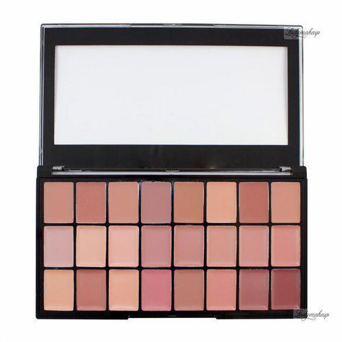 Freedom  - pro lipstick palette - naked - paleta 24 pomadek do ust