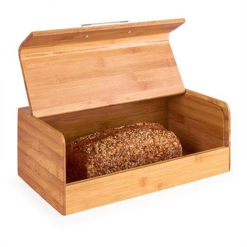 basket no.9 pojemnik na chleb bambus z uchwytem metalowym 7l marki Klarstein