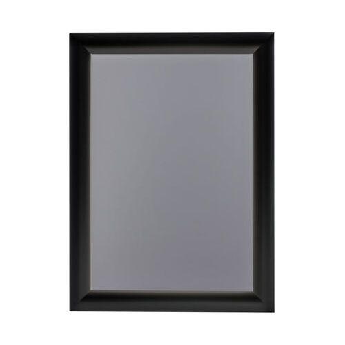 Ramka OWZ A4 plakatowa zatrzaskowa aluminiowa czarna