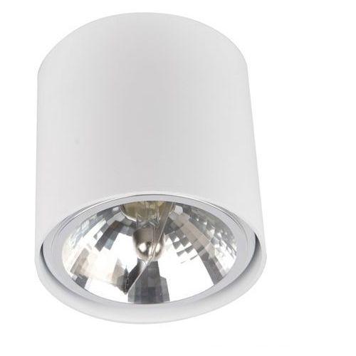 Lampa sufitowa spot box okrągła biała, 50631 marki Zuma line