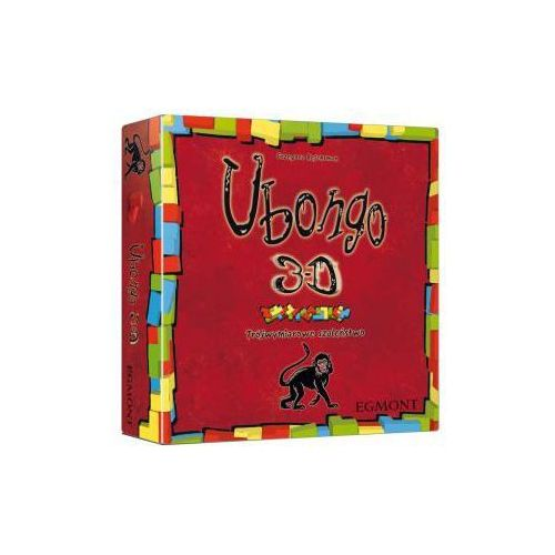 Ubongo 3d. gra rodzinna marki Egmont