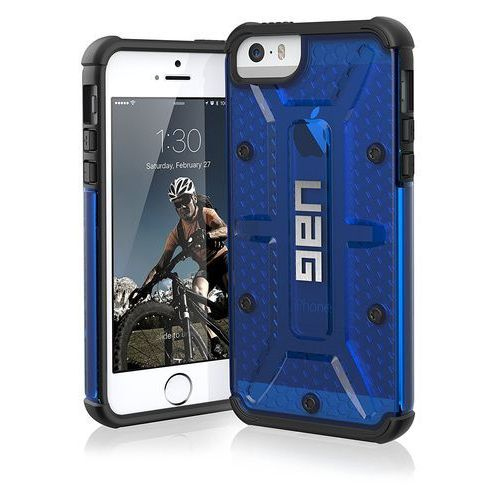 uag plasma etui ochronne iphone se / 5s / 5 (cobalt) marki Urban armor gear