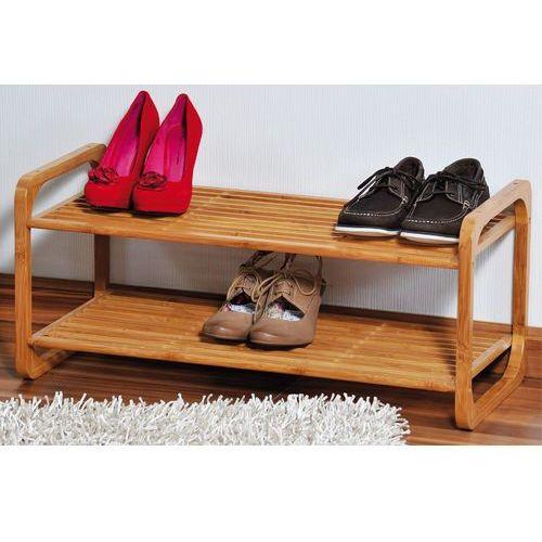 Kesper Szafka na buty z certyfikowanego bambusa, regał na buty, szafka na buty do przedpokoju, komoda na buty, drewniana szafka na buty, - OKAZJE