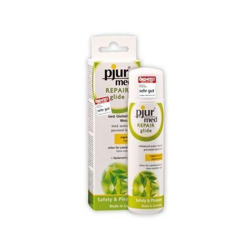 Pjur (ge) Żel regenerujący pjur med repair glide 100 ml   100% dyskrecji   bezpieczne zakupy