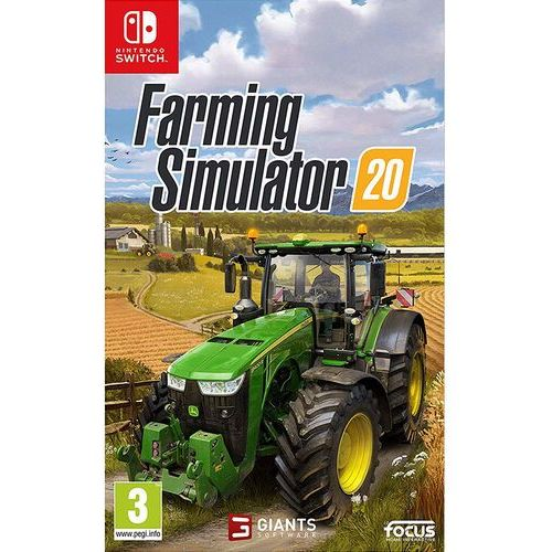 Farming Simulator 20 Nintendo Switch, KGNSFARMINGS20
