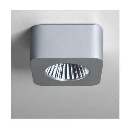 Natynkowa LAMPA sufitowa SAMOS SQUARE 5717 Astro metalowa OPRAWA LED 5W aluminium - sprawdź w wybranym sklepie