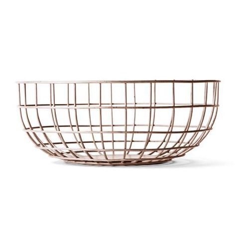 Misa druciana Menu Wire Bowl nude