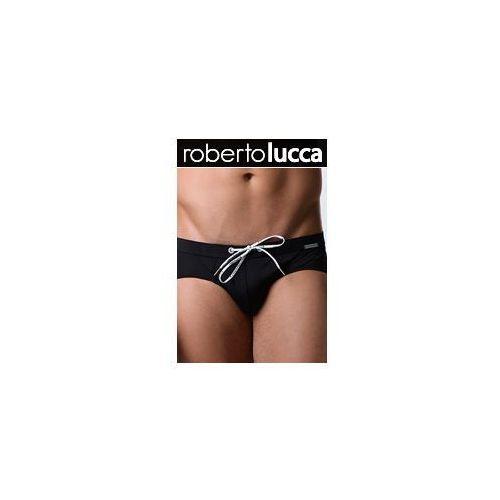 Kąpielówki Męskie Slipy PUSH-UP Roberto Lucca 70102 Deep Black, slipy