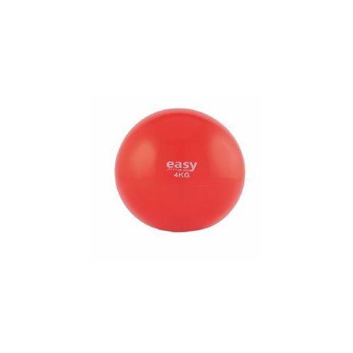 Easy fitness piłka lekarska soft, 4 kg - 4 kg