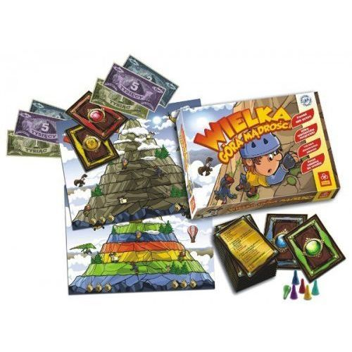 Gra Wielka Góra Mądrości, 5_524690. Najniższe ceny, najlepsze promocje w sklepach, opinie.