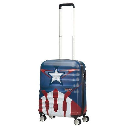 Walizka kabinowa wavebreaker marvel - captain america close-up marki American tourister