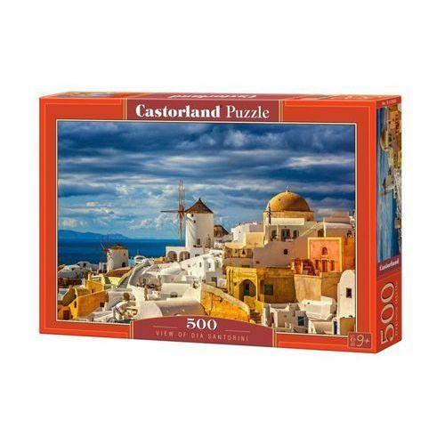 Castor Puzzle 500 el.:view of oia santorini - od 24,99zł darmowa dostawa kiosk ruchu (5904438052905)