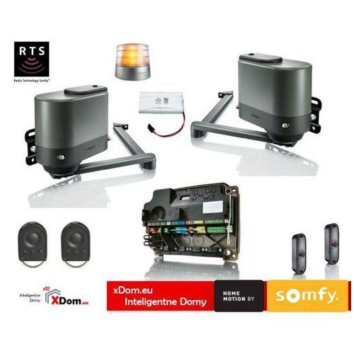 Somfy Axovia multipro 3s rts 24v comfort pack (2 piloty 4-kanałowe keygo, lampa z anteną, akumulator, fotokomórki)