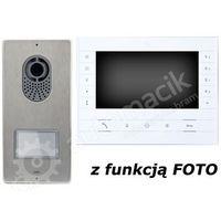 zestaw videofonowy cyfrowy placo/luxo x2 - z daszkiem do montażu natynkowego marki Came