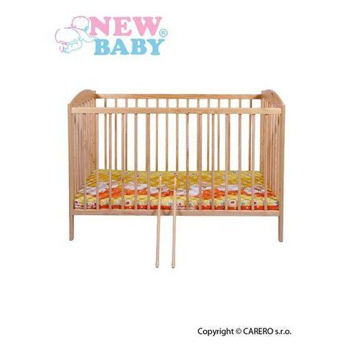 New baby Klasyczne łóżeczko dla dzieci  piotr - naturalne