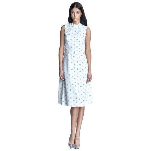 Sukienka - ecru/beż - s70 marki Nife