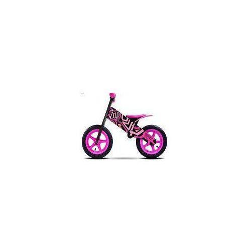 Rowerek biegowy dla dzieci ZAP BLACK/PINK