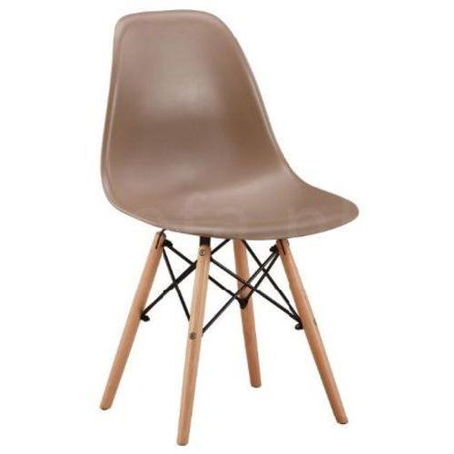 """Krzesło """"TIFI"""" beżowe, kolor beżowy"""