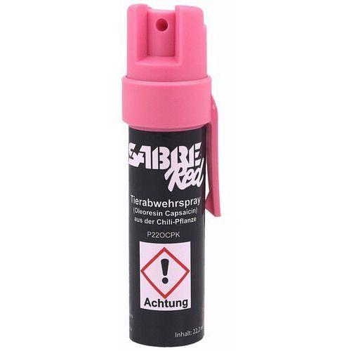 Gaz pieprzowy red sabre clip pink 22.2ml (p22ocpk) marki Sabre red