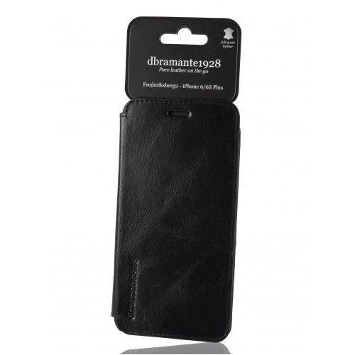 Dbramante1928 Skórzane etui  frederiksberg 2 iphone 6/ 6s plus - czarne