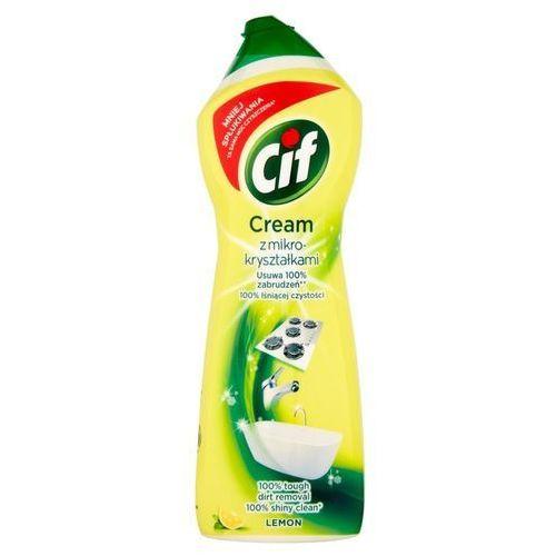 Mleczko do czyszczenia powierzchni Cif Cream Lemon z mikrokryształkami 780 g