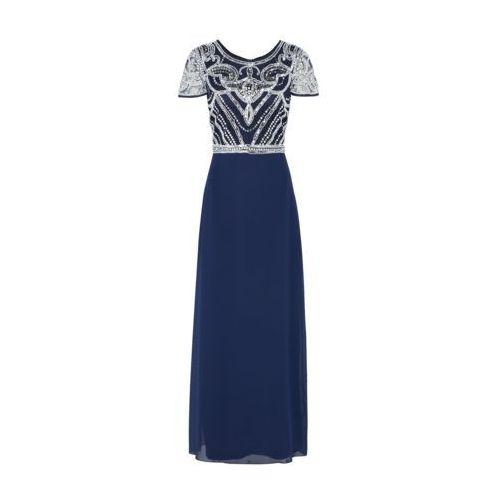 suknia wieczorowa 'boutique francesca' granatowy / biały, Boohoo, 34-42
