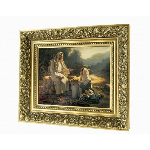 Obraz ceramiczny jezus i samarytanka marki Produkt polski
